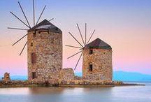 Chios island~sakiz adasi / Greece