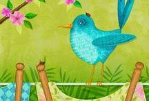 BIRDS: Illustration & Art
