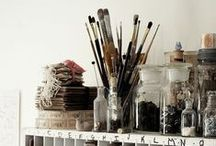 Studios, Homes and Home Studios / For me it's hard to seperate workspace and livingspace... they are one.