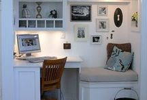 W O R K  Space / Office space, DIY office space ideas, redecoration ideas, work space inspiration, DIY desk ideas.