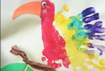HandPrintCreation / Cool crafts for kids, crafting with kids, kids organization, kids art projects, DIY with kids.