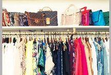 {more}ClosetSpace! / Closet spaces, closet organization, organizing small closets, closet tips and tricks, closet ideas, organization tips.