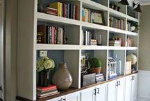Shelves & Such / Shelving ideas, shelving tips and tricks, DIY shelving, home organization, organization ideas.