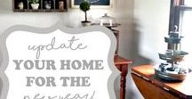 A Home: Shabby, Vintage & Timeworn / I love old, worn furniture & decor!