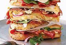 L U N C H  Line / Lunch ideas, sandwich recipes, quick lunch recipes, healthy eating, lunch ideas, and more.