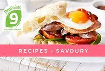 Recipes and Cooking Inspiration- Savoury / Weight Watchers recipes for Breakfast, Lunch and Dinner to inspire you in the kitchen and help you enjoy your weight loss journey.