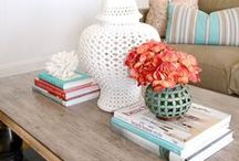 Coral + Blue{ish} / Home decor, home DIY ideas, home remodel, home projects, decoration inspiration, fashion inspiration, and more.