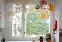WindowTreatments / Cute window treatments, window remodeling, home inspiration, home tips and tricks, DIY window treatments.