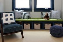 Navy + Green / Home decor, home DIY ideas, home remodel, home projects, decoration inspiration, fashion inspiration, and more.