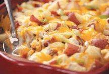 Easy Casseroles! / Easy casserole ideas, casserole recipes, healthy eating, easy recipes, healthy recipes, dinner ideas.