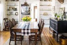 D I N I N G  Rooms / Dining room inspiration, DIY dining room updates, dining room tips, decorating hacks, dining room ideas.