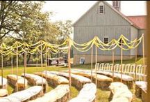 outdoor wedding ideas / by Kimberly Fiser