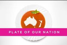 Plate of our Nation / Looking for the hard facts on the health of our nation? Plate of our Nation looks at the habits, and some shocking statistics, about how the obesity epidemic has developed over the last few decades. What changes will you make for weight loss and healthy living now? / by Weight Watchers Australia and New Zealand