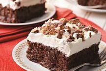 C H O C O L A T E / Chocolate recipes, cake recipes, dessert recipes, easy desserts, easy recipes, and other sweet treats.