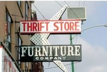 T H R I F T  Stores! / Thrift store hacks, thrift store shopping tricks, repurpsing thrift store ideas, what to buy at thrift stores.