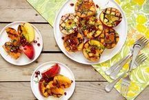 """Fruit Meets Grill / There's more to your grill than """"meats"""" the eye. Let fruit take center stage this summer!"""