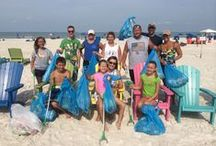 Monthly Beach Cleanup / Plaza Beach Resorts cares about the environment.  We were one of the first Green certified hotels in St Pete Beach.  Beach Cleanups are held the first Saturday of each month at 9am.  Join our owners, managers, employees, guests and the community to keep our beaches beautiful and clean! / by Plaza Beach Resorts