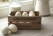 A Farmhouse Home / Decorating ideas for a vintage, shabby, or French country farm house.