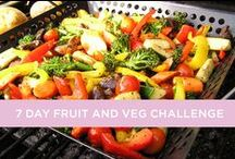 7 Day Fruit and Vegetable Challenge / Mix up your habits and join our 7 day Fruit & Veg Healthy Eating Challenge.    How creative you can get with vegetarian meals? / by Weight Watchers Australia and New Zealand