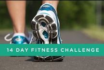 14 Day Fitness Challenge / Looking for some exercise motivation to boost your weight loss? Follow our two week challenge!