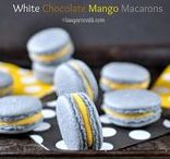 Macarons + Meringues Recipes / All the pretty things a little whipped egg whites can make!