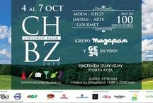 CHBZ / Hacienda Guay-Guay - Chicureo - Chile 3 días de Moda - Deco - Diseño - Gourmet y Jardín