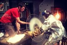Feel the Heat in the Hot Shop / http://museumofglass.org/glassmaking/live-from-the-hot-shop / by Museum of Glass