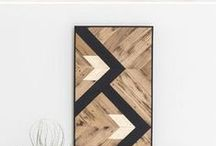 Barn wood projects / Barn wood and scrap wood projects for the home.