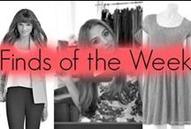 Finds of the Week / Our favorite finds of the week. / by Penny Chic