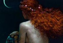 if I were a mermaid... / by Abbie Moore-Reiter
