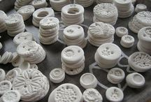 PORCELAIN / My grandma is giving me her kiln. Here is a collection of ideas using porcelain.  / by Sadie Fox Studio