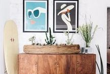 DECOR | Surf Shack / Your SoCal roots are showing.