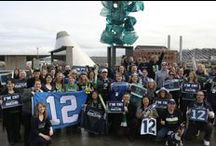 Seattle Seahawks Pride / Showing the spirit of the 12th Man / by Museum of Glass
