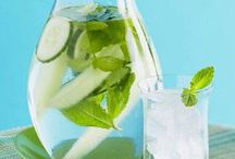 Drink your health / Water flavors. Detox beverages. ... / by K