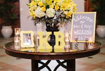 ||•Yellow & Gray wedding ❤️ / Future wedding theme  / by Katie Gates