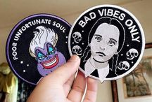 Patches and pins we love / This board is dedicated to patches and pins from our favorite makers