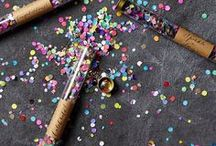 New Year's Eve / Entertaining, decor, menu and activity ideas to ring in the New Year.