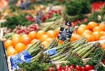 Farms and food markets
