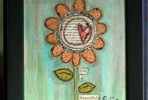 art journaling / by Monika Wright