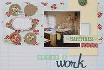 scrapbooking / by Monika Wright