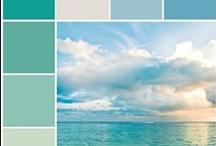 colors ~ blue, turquoise, aquamarine / by Nḭ̃c̰̃õ̰l̰̃ḛ̃