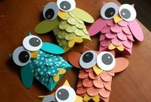Let's Get Crafty / Inspired Housewife - Fun crafts I want to try with my kids - now to find my inner glue gun goddess.