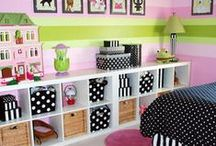 Kids Room Decor / Inspired Housewife - Always looking for cute decorating and organization ideas to maximize space for toys, books, and furniture.