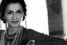 "Coco Chanel / ""Everyone marries the Duke of Westminster. There are a lot of duchesses, but only one Coco Chanel.""