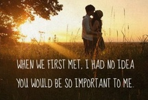 My Happily Ever After <3 / In you, I've found the love of my life and my closest, truest friend <3 / by Kristen Copeland