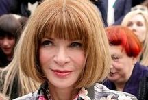 "Anna Wintour / ""This is why New York has become the most relevant fashion capital in the world. Because we respect not only the established designers but also the up-and-coming ones like Peter."" -- Anna Wintour  / by Bonnie Friesen"