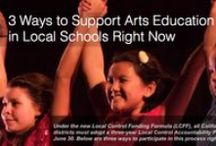 Advocacy / Fuel for the voice that advocates for the arts. Dance, Drama, Music, Visual Arts, Literary Arts
