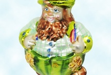 Irish & St. Patricks Day / Create St. Patrick Day displays with Christopher Radko, Patricia Breen, Old World Inge Glass European hand blown glass ornaments & celebrate the Irish in each of us!