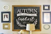 Autumn Inspirations / Inspire the season of Autumn - Fall. DIY, crafts, decor, recipes, tablescapes, colors, quotes, etc. Inspiring the Autumn or Fall season. / by Kelly Andrews