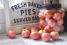 DoWn AppLE TrEe LaNe / Take a stroll Down Apple Tree Lane. Pick some fresh sweet apples from the trees to take home and bake one of the yummy recipes you'll find along the way.  Sweet Blessings, Abbey and Sara